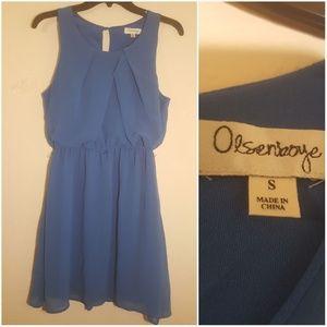 Olsenboye Size Small blue dress